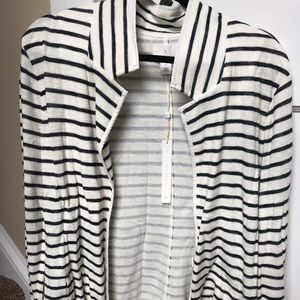 Black and white striped sweater!